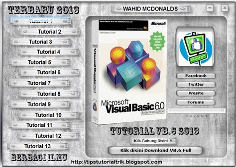 tutorial visual basic indonesia download tutorial lengkap visual basic terbaru 2013 tips