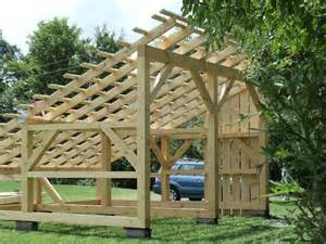 Build An A Frame House Timber Frame Solar Power Shed Dragonfly Builders