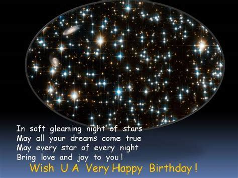 Sparkling Birthday Greetings. Free Birthday Wishes eCards
