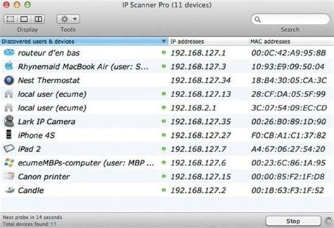 how do devices get their mac addresses or ip addresses