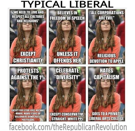 Liberal College Girl Meme - life liberty and the pursuit war on our religion