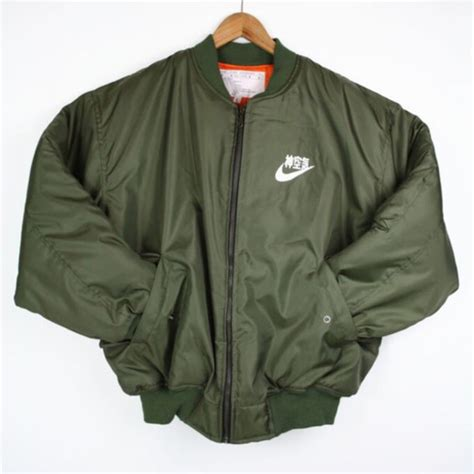 Jaket Bomber Original Olive Thunder 1 jacket flight jacket ma 1 flight jacket bomber jacket