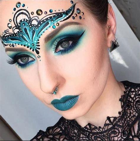 imagenes de halloween para el rostro maquillaje de fantas 237 a para halloween 2018 modaellas com