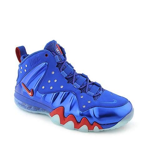 barkleys sneakers nike barkley posite max mens blue athletic basketball sneaker