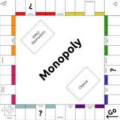 Custom Monopoly Board Template monopoly template by lunarcloud on deviantart