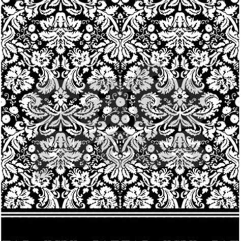 black and white damask curtain fancy black and white damask shower curtain by