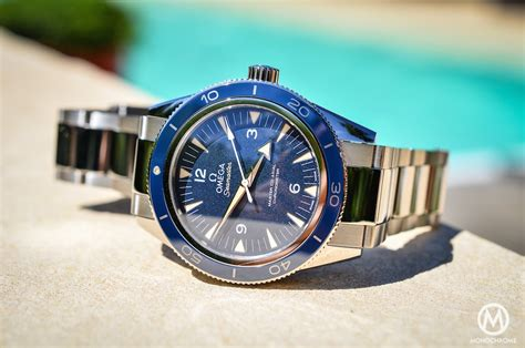 Omega Seamaster 300 Master Co Axial in titanium   Review after a summer on the wrist (live