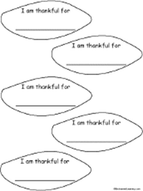 printable small turkey feathers thankful feather template enchantedlearning com
