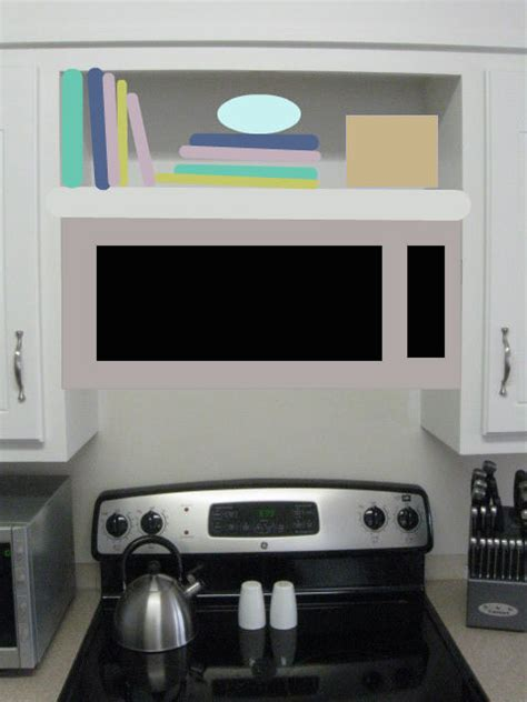 Stove Top Microwave Shelf by Goin Bean In
