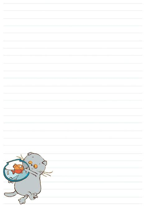 printable cat stationery 265 best cat stationery images on pinterest writing