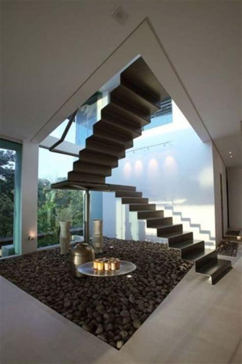Zen House Stairs Design Escada De Ferro 8 Modelos E Pre 231 O
