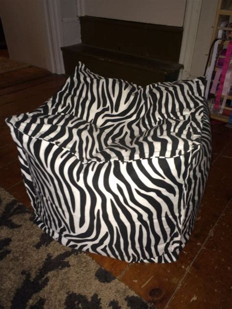 Zebra Bean Bag Chair by 1000 Images About Aminal Prints On