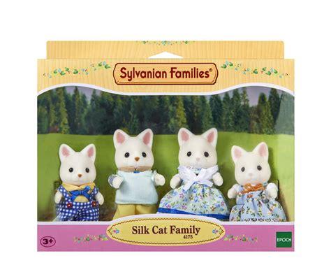 sylvanian families cat family sylvanian families silk cat family 163 15 94 picclick uk
