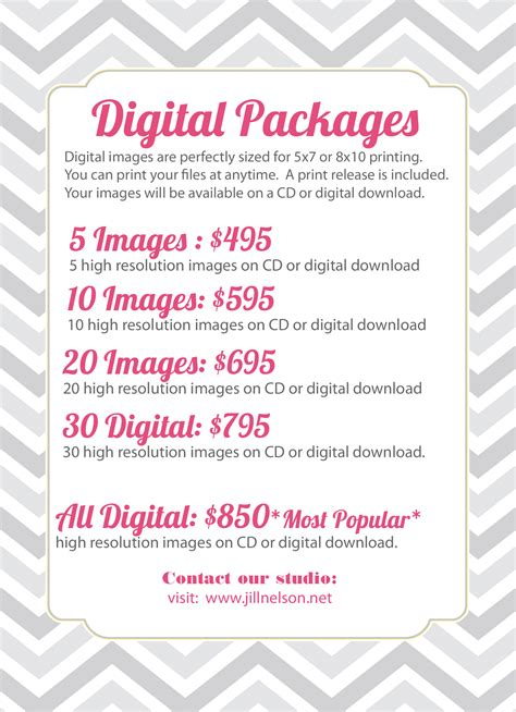 Photography Packages by Digital Packages Nelson Photography 187 Nelson