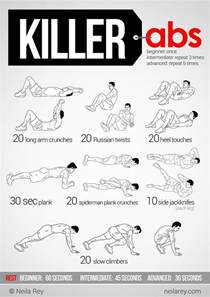 17 best ideas about killer ab workouts on