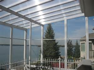 Clear Roofing Clear Or Translucent Patio Covers And Sunroom Glazing