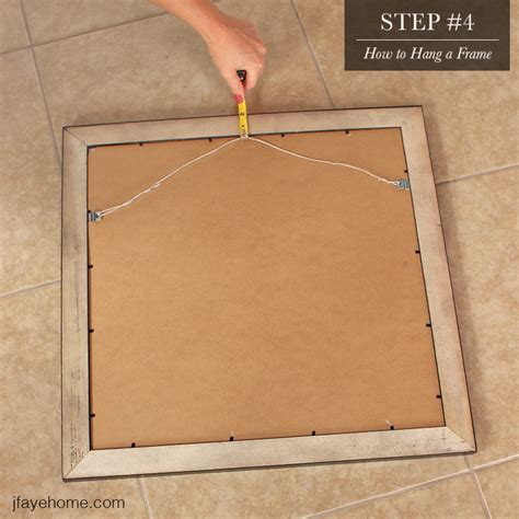 how to hang pictures without frames picture frames how to hang a picture frame with wire how