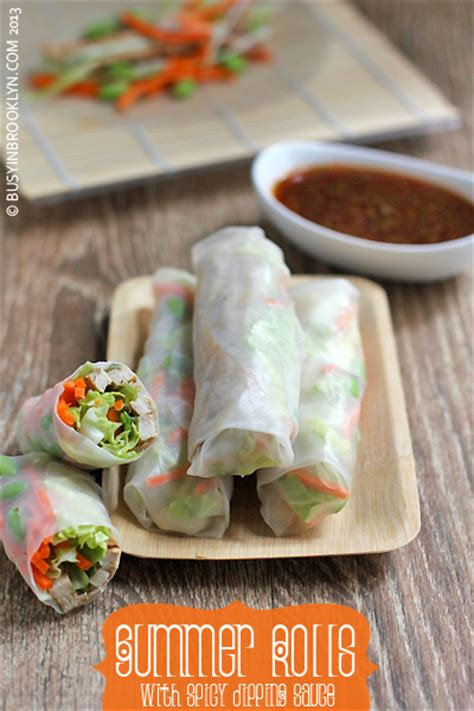 How To Make Chicken Rice Paper Rolls - busy in 187 archive 187 summer rolls with spicy