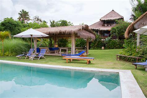 villa mewah  bali  infinity pool pribadi