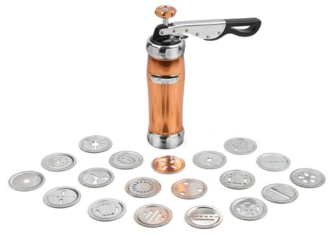 Marcato Biscuit Cookie Press, Copper   Cutlery and More