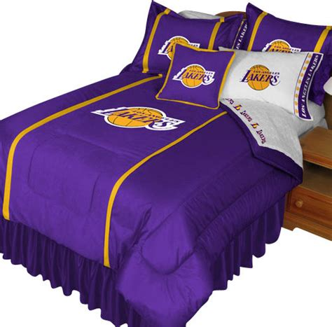 lakers comforter set twin nba los angeles lakers comforter pillowcase basketball bed