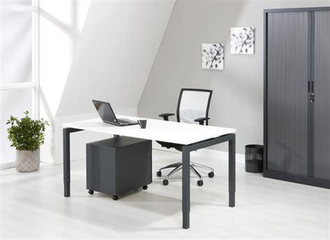 Luxe Bureau Antraciet 120x60cm Kantoormeubelen Pro Bureau Luxe