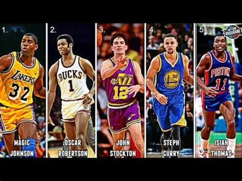 best point top official 10 nba point guards of all time