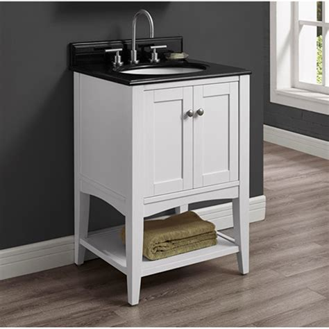 bathroom vanity shelf fairmont designs shaker americana 24 quot vanity open shelf