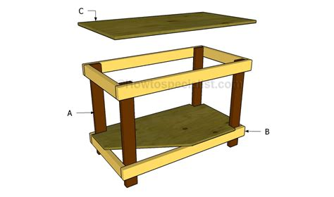 how to build a table how to build a work table howtospecialist how to build
