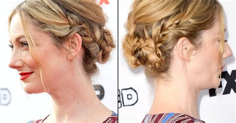 judy greer the social judy greer s braided hairstyle at married premiere how to