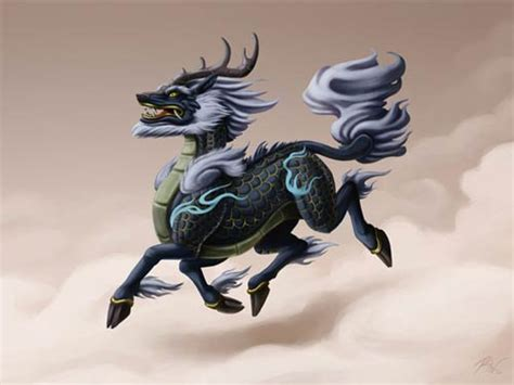 qilin tattoo meaning art symbols icons and badges brotherhood of the