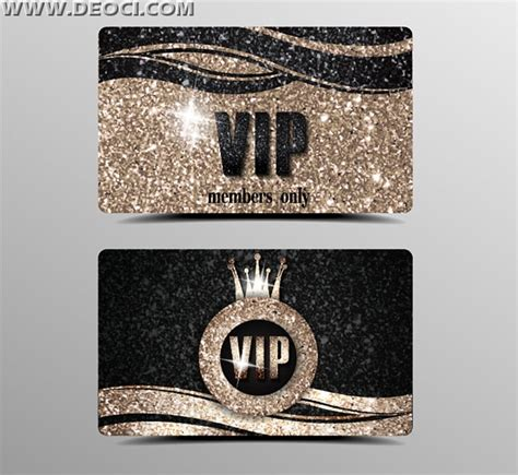vip card template scrub vip card design template eps file to