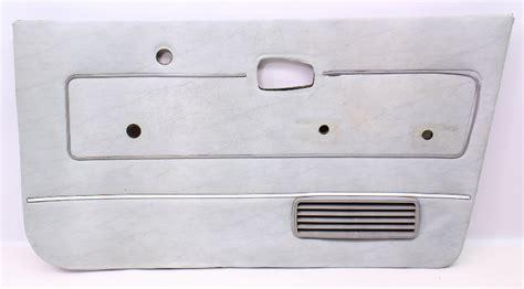 rh front grey door card panel   vw rabbit pickup caddy mk genuine