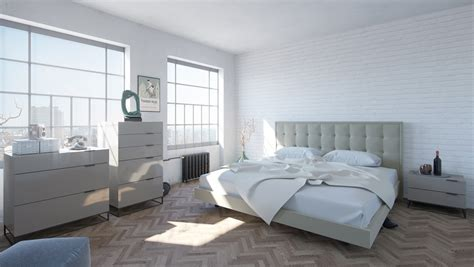 modern gray bedroom modrest hera modern grey bedroom set