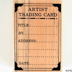 Artist Trading Card Envelope Template by Envelope For Artist Trading Cards 3 75 X 2 5 Or Credit