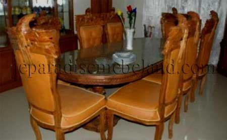 Set Kursi Tamu Garuda Ukir Jepara set kursi meja makan ukir garuda jual mebel jepara
