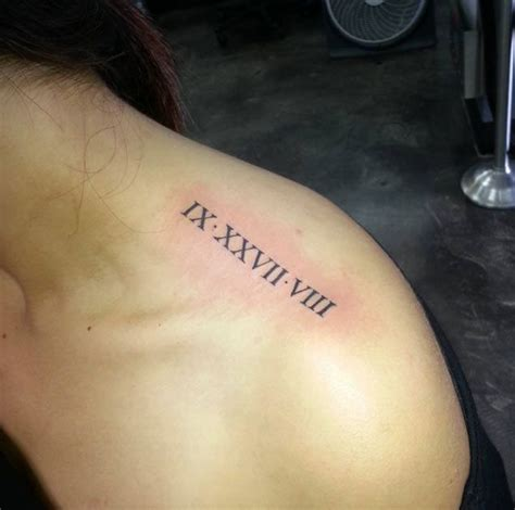 tattoo designs roman numerals 36 exquisite numeral designs tattoos on