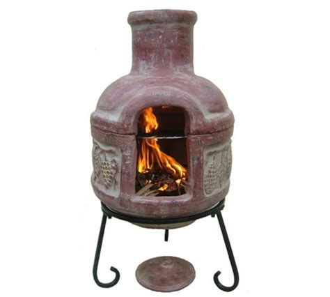 ceramic chiminea outdoor fireplace 17 best images about clay chimineas on cozumel