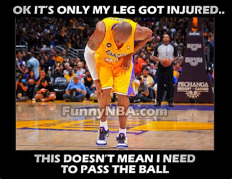 Kobe Bryant Injury Meme - april 2013 nba funny moments