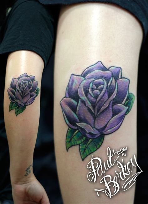 rose tattoo on elbow tattoos by paulberkey tattoos by