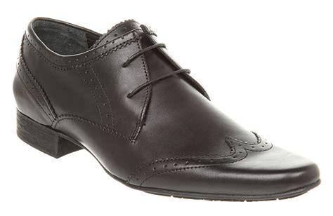 by hudson mens shoes mens hudson london ellington brogues black leather formal