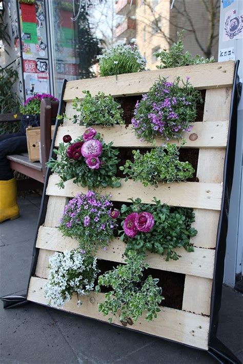 Garden Ideas With Pallets 10 Pallet Ideas For Garden And Balcony Decorations Pallets Designs