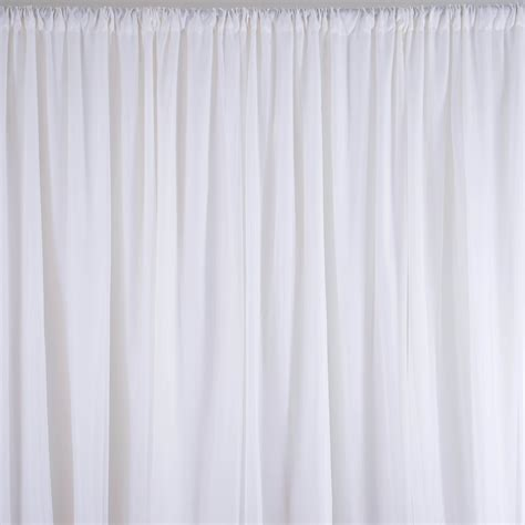 white curtain backdrop 6 m x 3 m white fabric backdrop wedding party photobooth