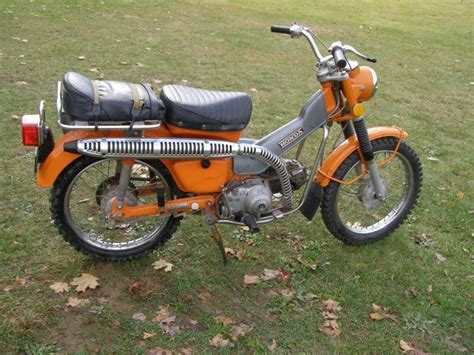 minty 1972 honda trail 90 road motorcycle for sale on