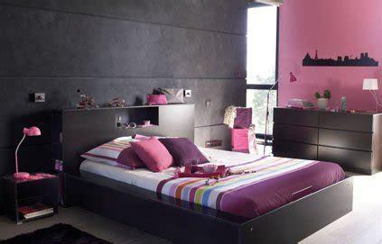 chambres d h es finist鑽e d 233 co chambre fushia et gris