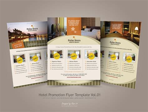 Hotel Flyer Design Template