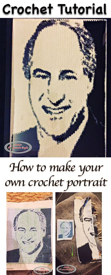 crochet pattern writing program how to make a crochet graphgan or crochet portrait