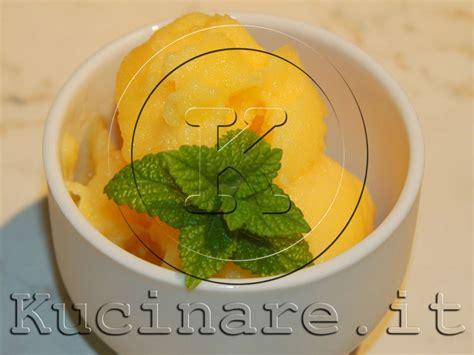 essenza fiori d arancio sorbetto all arancia ricetta di kucinare it per kucinare it