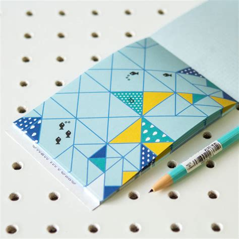 Origami Notebook - notebook with origami correspondence sheets by berylune