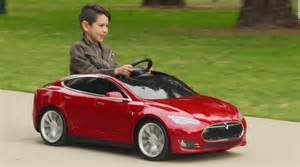 Tesla Electric Childs Car Tesla Launches 500 Electric Model S Tech